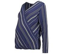 Bluse blue pattern