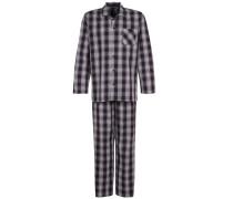 Pyjama - dark blue/white
