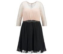 Cocktailkleid / festliches Kleid rose / black