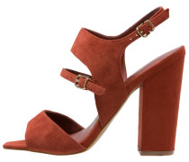 High Heel Sandaletten red