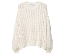 LACEY Strickpullover white