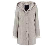 PETAL Wollmantel / klassischer Mantel grey melange