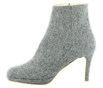 High Heel Stiefelette - grey