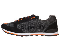 SUPERWEAVE Sneaker low black