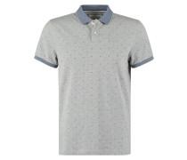 Poloshirt light grey melange