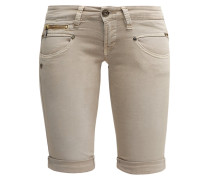 BELIXA Jeans Shorts simply taupe