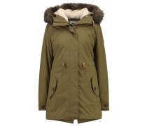 AMY 2IN1 Wintermantel military olive