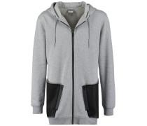Sweatjacke grey/black