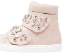 TINT JEWELLED STRAP HI TOP Sneaker high nude