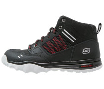 TRAIL DOZER Schnürstiefelette black/red