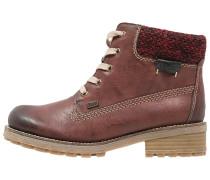 Ankle Boot vinaccia/rot/schwarz