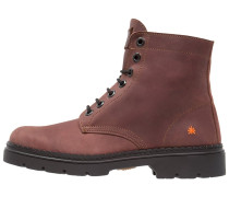 ALPINE Schnürstiefelette brown