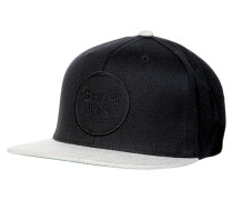 WHEELER - Cap - black/light heather grey