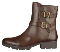 Cowboy-/ Bikerstiefelette - dk brown