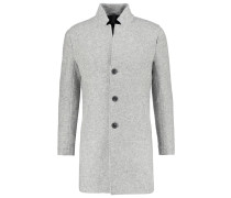 MALONE Wollmantel / klassischer Mantel cloud melange