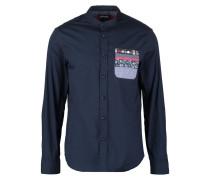 REGULAR FIT Hemd azul ultramar