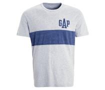T-Shirt print - heather grey