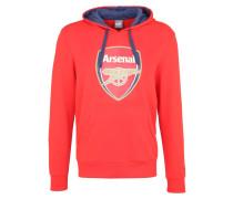 ARSENAL FC Sweatjacke high risk red