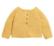 Strickjacke - yellow