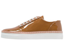 BEETON PATENT - Sneaker low - fudge