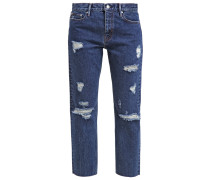 Jeans Straight Leg blue denim