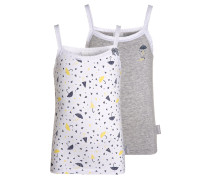 2 PACK Unterhemd / Shirt blanc