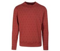 TILL ETHNO Sweatshirt dark rust