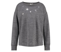 Sweatshirt black space dye