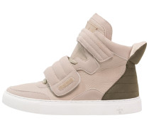 TRIBECA Sneaker high nude/olive