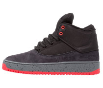 SHUTDOWN - Sneaker high - black/dark grey/red