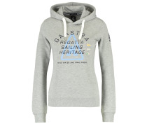 ROUGH SEA - Kapuzenpullover - grey heather
