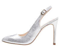 ESLA SHADE High Heel Pumps bianche silver