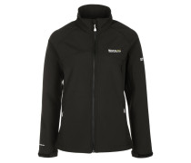 NEBRASKA II Softshelljacke black
