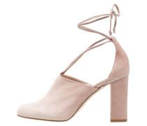 High Heel Pumps - rose/nude