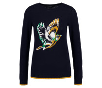 BIRD Strickpullover navy blue