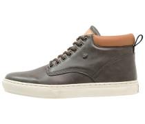 WOOD Sneaker high dark grey/cognac