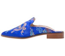 CANTARA - Pantolette flach - blue