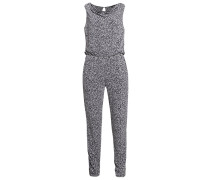 Jumpsuit grey/black