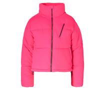 Winterjacke bright pink