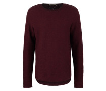 BRUCE - Strickpullover - dark red
