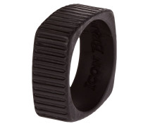 TIME SQUARED Ring black