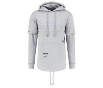 Sweatshirt distressed grey heather