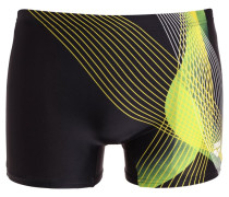 VIBORG Badehosen Pants black/yellow star