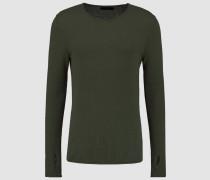 Strickpullover - dusty green