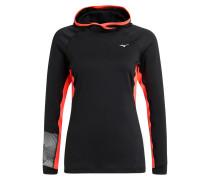 PHENIX Sweatshirt black/fiery coral