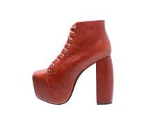 VALITA High Heel Stiefelette red