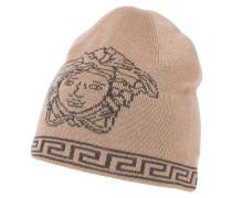 Mütze camello/grigio