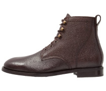 Schnürstiefelette dark brown