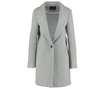 Wollmantel / klassischer Mantel grey melange