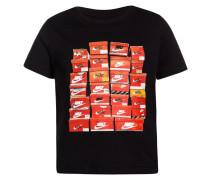 SHOEBOX - T-Shirt print - black